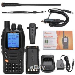 Wouxun KG-UV2Q 8W High Power 7 bands/Air Band Cross Band Repeater Two Way Radio