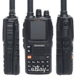 Wouxun KG-UV9D Plus 7Bands Air Band Cross Band Repeater Walkie Two Way Radio Set