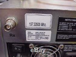 Xpr8300 Vhf Repeater 136-174 Mhz Dmr/analog With Decibel 6 Cavity Duplexer