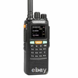 Zastone ZT889G GPS Radio 134-174/400-520MHz Two Way FM Walkie Talkie For Hunting