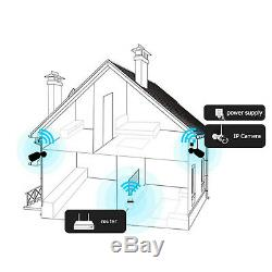 Zoohi Signal Two-way Audio Camera Wireless CCTV Security Camera Outdoor 1080P HD